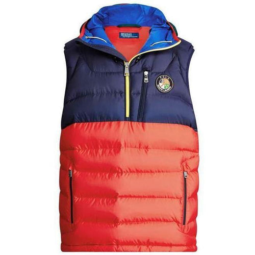 POLO RALPH LAUREN Glacier Hooded Down Vest, Multi-OZNICO