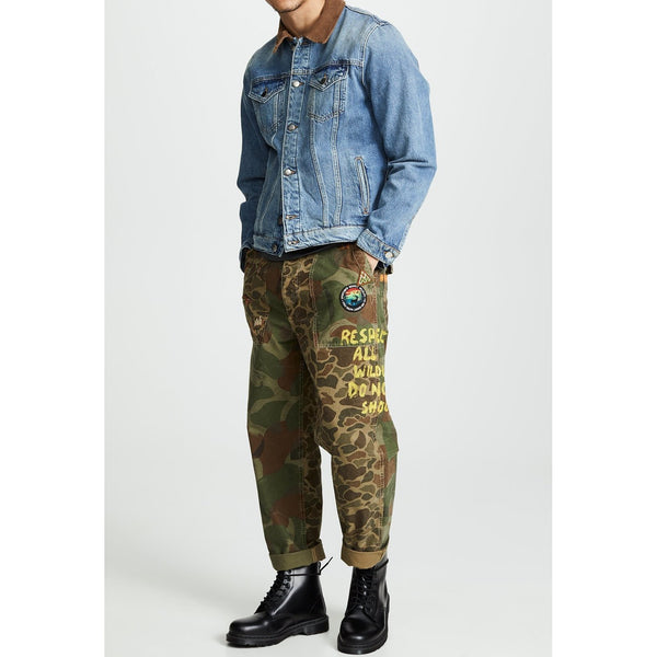 POLO RALPH LAUREN Great Outdoors Canvas Patchwork Pants, Camo/ Multi-OZNICO