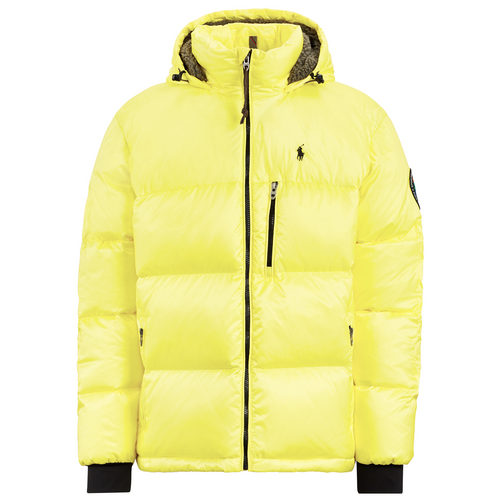 POLO RALPH LAUREN Great Outdoors Repellent Down Coat, Lemon Crush-OZNICO