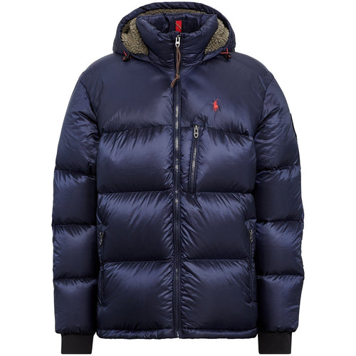 POLO RALPH LAUREN Great Outdoors Repellent Down Coat, Newport Navy-OZNICO