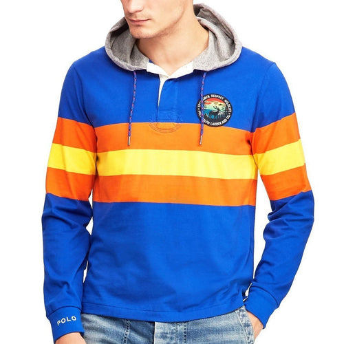 POLO RALPH LAUREN Great Outdoors Sportsmen Fleece Sweatshirt, Cruise Royal Multi-OZNICO