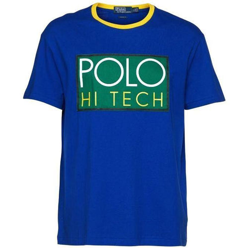 POLO RALPH LAUREN Hi Tech Classic Fit T-Shirt, Blue-OZNICO