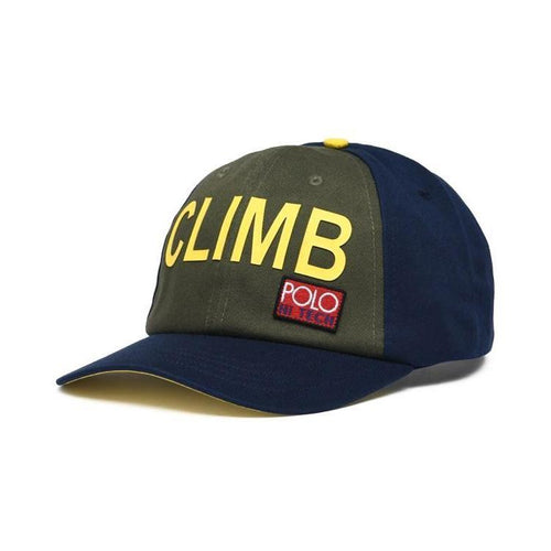 POLO RALPH LAUREN Hi Tech Climb Cap, Navy/ Multi-OZNICO