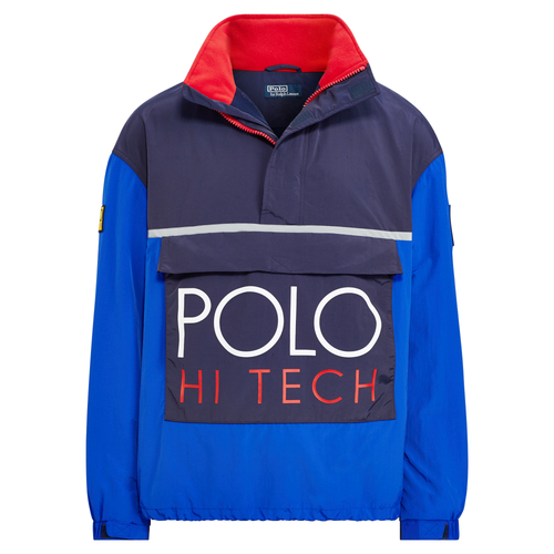 POLO RALPH LAUREN Hi Tech Color-Blocked Pullover, Royal-OZNICO