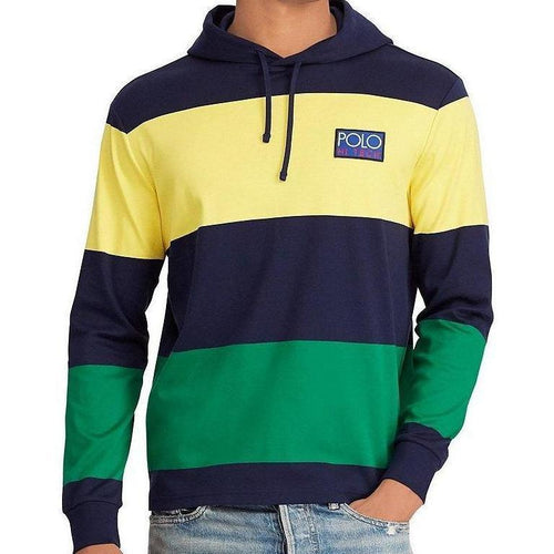 POLO RALPH LAUREN Hi Tech Light Weight Hoodie, Navy/ Multi-OZNICO