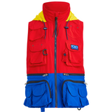 POLO RALPH LAUREN Hi Tech Water-Repellent Vest, Red-OZNICO