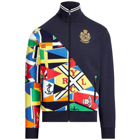 POLO RALPH LAUREN P-Wing Graphic Pullover, Black
