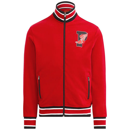POLO RALPH LAUREN P-Wing Cotton Track Jacket, Red-OZNICO