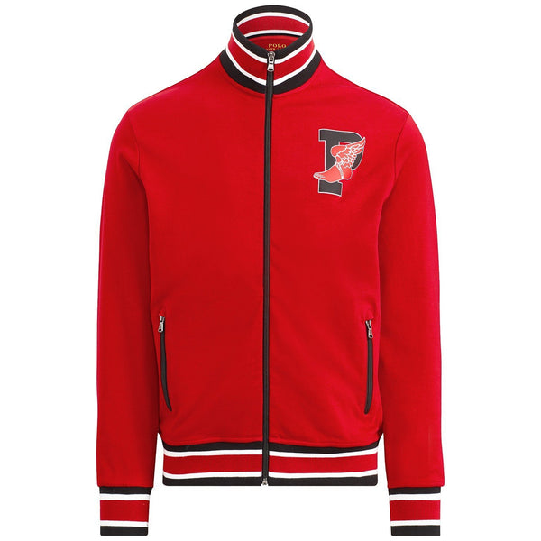 5e9abc8760 POLO RALPH LAUREN P-Wing Cotton Track Jacket, Red