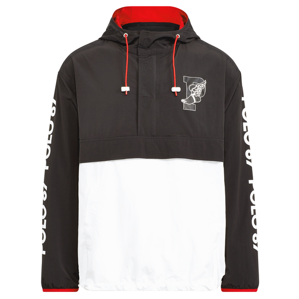 POLO RALPH LAUREN P-Wing Graphic Pullover, Black-OZNICO