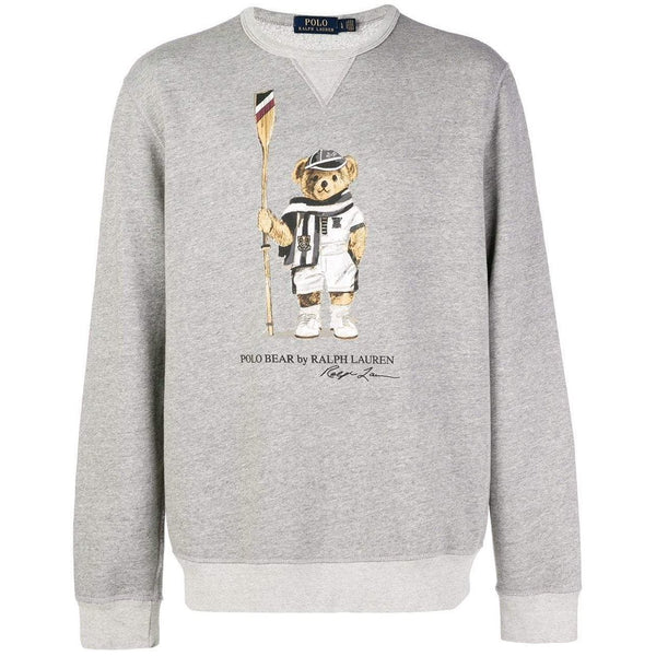 5b7ab622d POLO RALPH LAUREN Polo Bear Fleece Sweatshirt, Grey – OZNICO