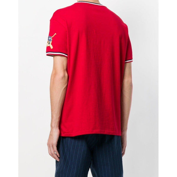 POLO RALPH LAUREN Vintage Logo T-Shirt, Red-OZNICO