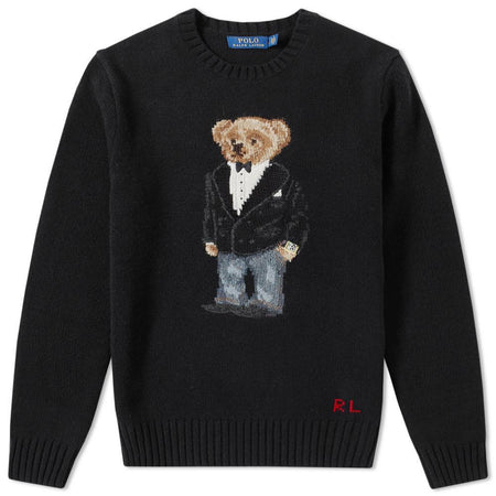 POLO RALPH LAUREN Iconic Bear Isle Sweater, Multicolor