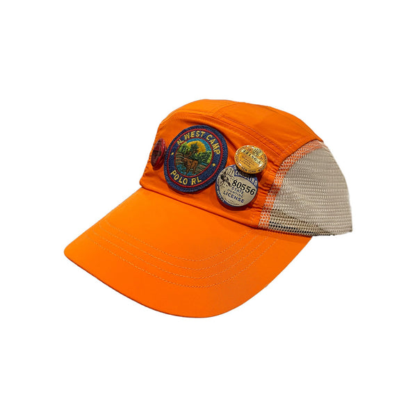POLO RALPH LAUREN Saranac Lake 5 Panel Cap, Orange