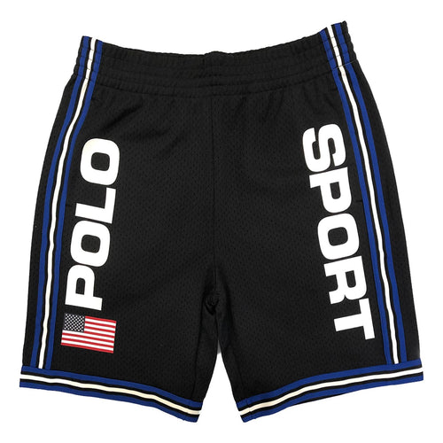 POLO RALPH LAUREN Polo Sport Performance Mesh Shorts, Black