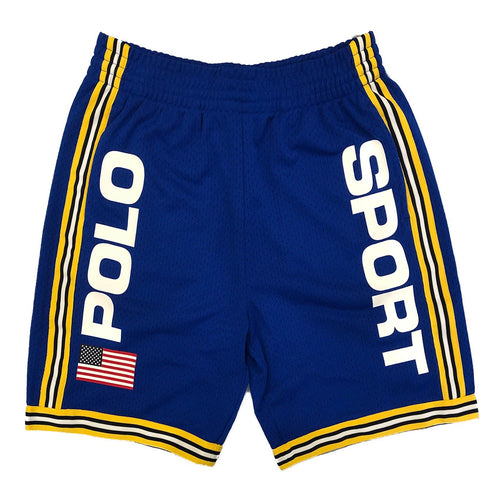 POLO RALPH LAUREN  Polo Sport Performance Mesh Shorts, Blue