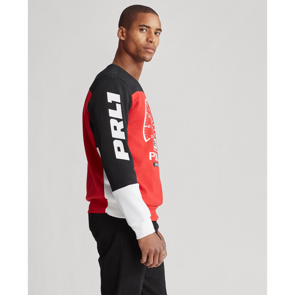 POLO RALPH LAUREN Motocross Sweatshirt, Red