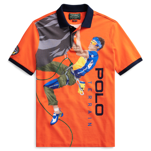 POLO RALPH LAUREN Classic Fit Terrain Polo Shirt, Orange