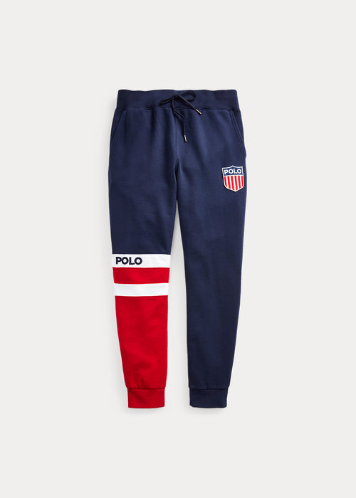 POLO RALPH LAUREN Polo Shield Fleece Joggers, Navy