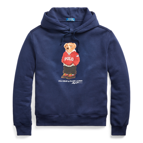 POLO RALPH LAUREN Polo Bear Fleece Hoodie, Cruise Navy
