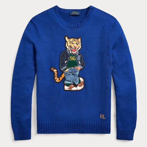 POLO RALPH LAUREN Polo Tiger Sweater, Heritage Royal