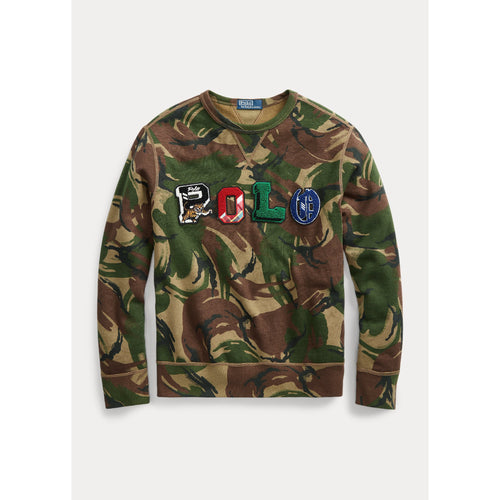 POLO RALPH LAUREN Camo Fleece Sweatshirt, Multi