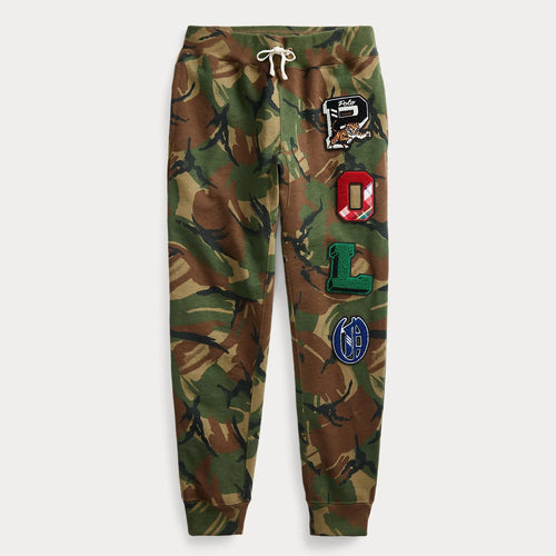 POLO RALPH LAUREN Camo Fleece Jogger Pants, British Elmwood Camo