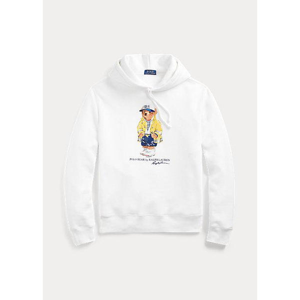 POLO RALPH LAUREN CP-93 Bear Fleece Hoodie, White