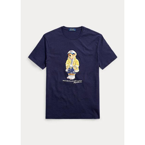 POLO RALPH LAUREN Classic Fit CP-93 Bear T-Shirt, Navy