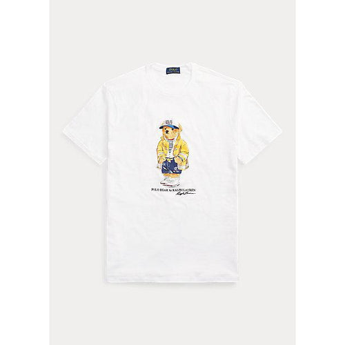 POLO RALPH LAUREN Classic Fit CP-93 Bear T-Shirt, White