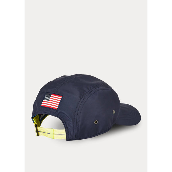 POLO RALPH LAUREN 5 Panel Sport Cap, Navy