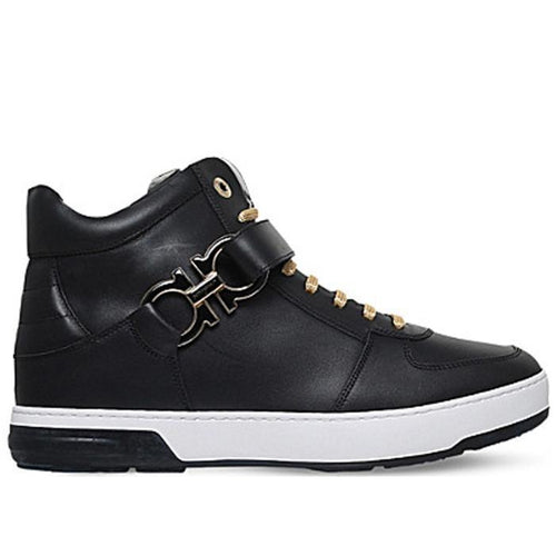 SALVATORE FERRAGAMO 'Nayon' High Top Sneaker-OZNICO