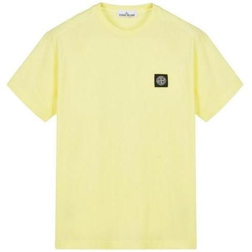 Stone Island Compass T-Shirt, Yellow-OZNICO