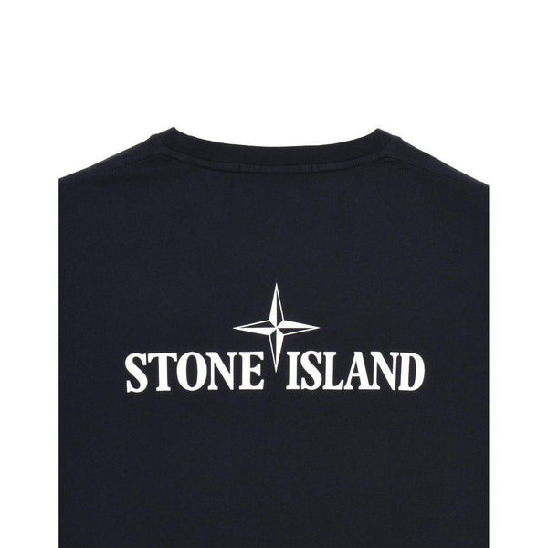 STONE ISLAND Graphic Eleven T-Shirt, Ink-OZNICO