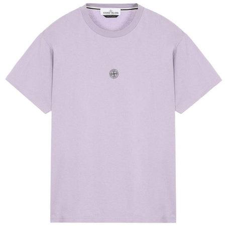 STONE ISLAND Patch Logo T-Shirt, White