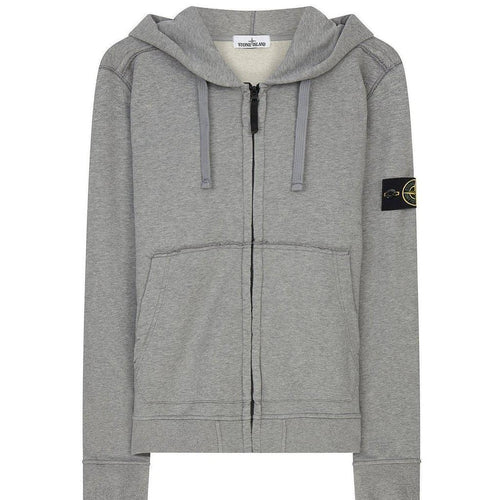 STONE ISLAND Hooded Sweatshirt, Dust-OZNICO