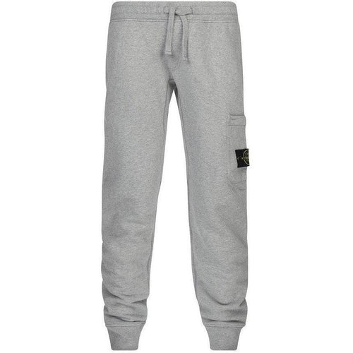 Stone Island Jogging Pants, Grey-OZNICO