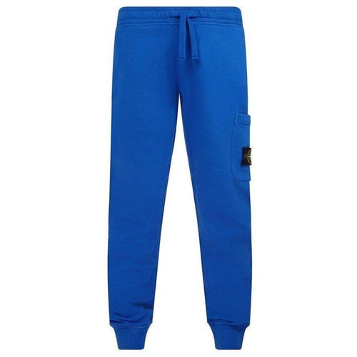 Stone Island Jogging Pants, Royal Blue-OZNICO