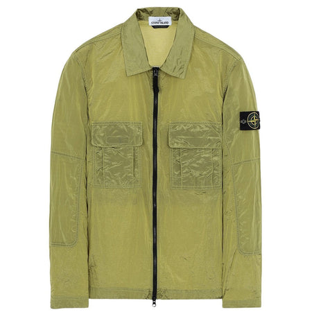 STONE ISLAND Headquarters Hooded Sweatshirt, Olive