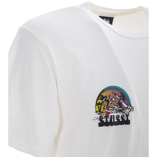 STUSSY Dead Surf Pig Tee, Natural-OZNICO