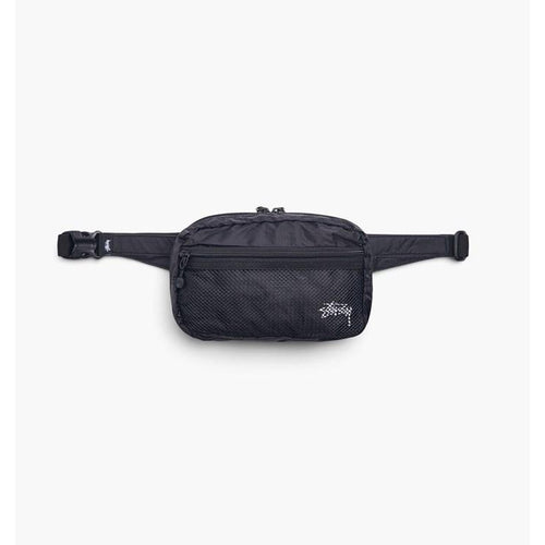 STUSSY Light Weight Waist Bag, Black