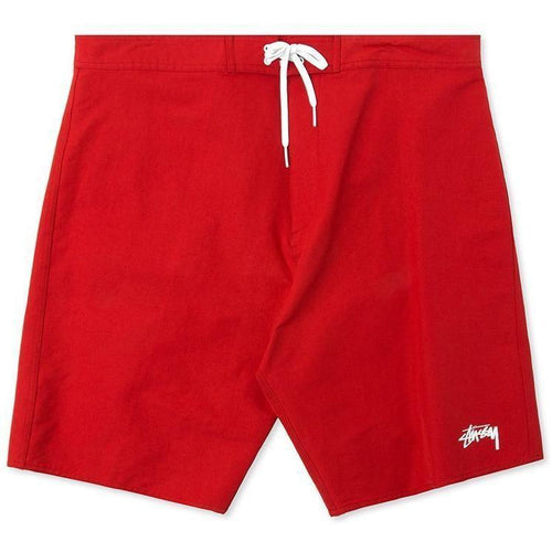 STUSSY Stock Trunk, Red-OZNICO