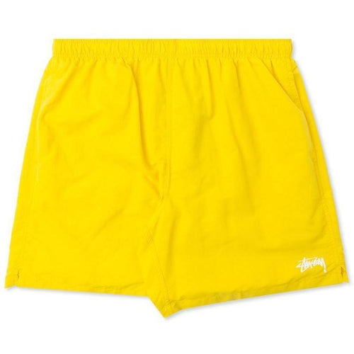 STUSSY Stock Water Short, Yellow-OZNICO