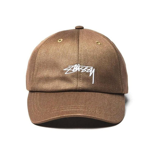 STUSSY Suiting Low Pro Cap, Khaki-OZNICO
