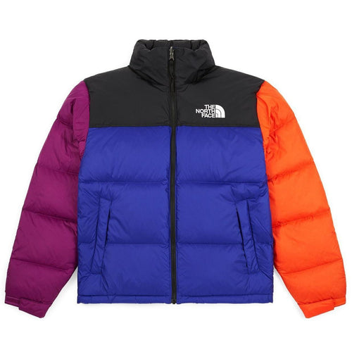 THE NORTH FACE 1996 Retro Nuptse Jacket, Aztec Blue/ Rage Combo-OZNICO