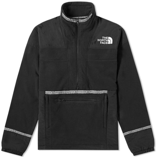 THE NORTH FACE 92 Rage Fleece Anorak, Black-OZNICO