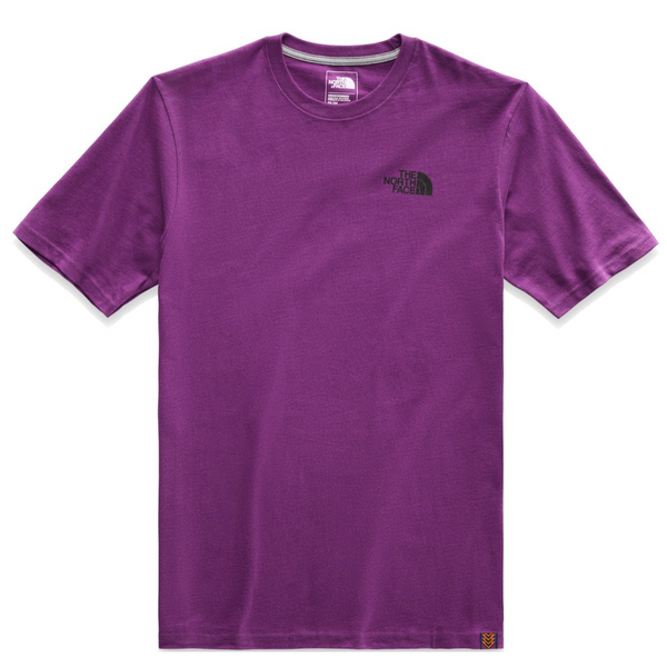 THE NORTH FACE 92 Rage Print Half Dome Heavy Weight T-Shirt, Pholx Purple-OZNICO