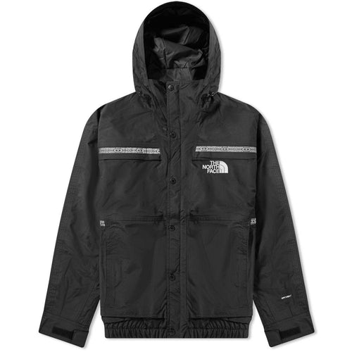 THE NORTH FACE 92 Retro Rage Rain Jacket, Black-OZNICO