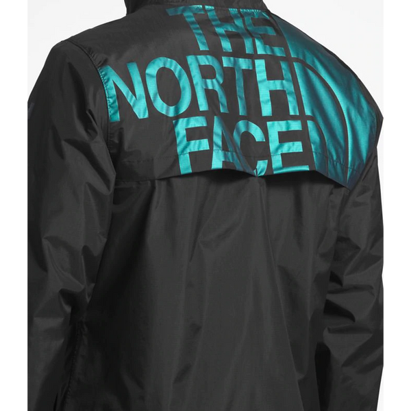THE NORTH FACE Cultivation Rain Jacket, TNF Black/ Iridescent-OZNICO