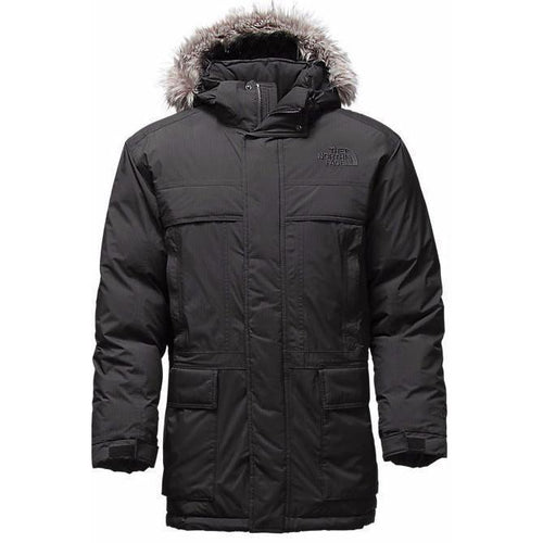 THE NORTH FACE Men's McMurdo Parka, Black-OZNICO